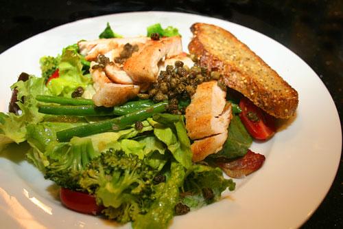 Chicken-Picatta-Salad