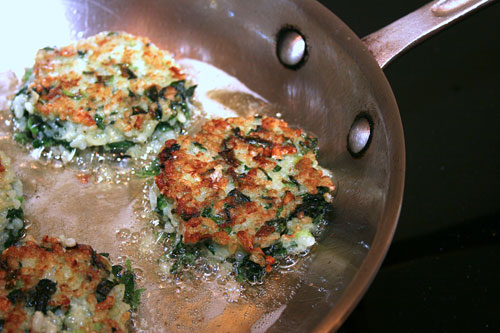 Fritters-Frying