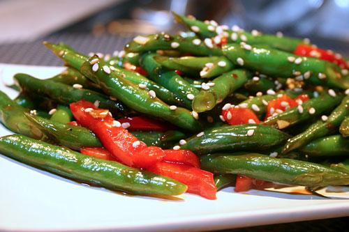 Sesame-Soy-Green-Beans