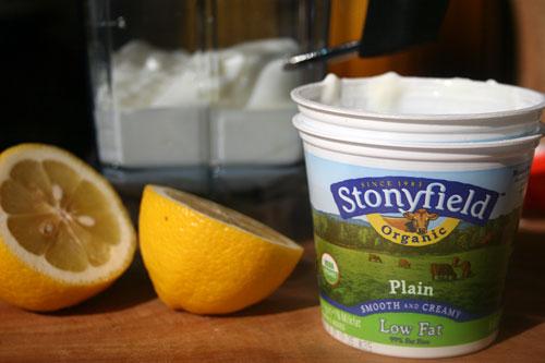 Ingredients-Yogurt