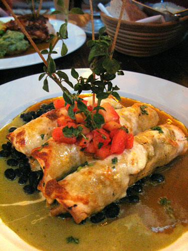Vegetable-Enchiladas