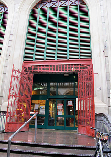 Florence Mercato Centrale Entrance